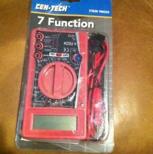 Cen-Tech 7 Function Digital Multimeter NIB
