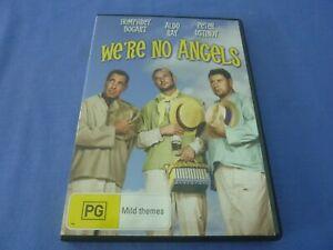 We're No Angels DVD Humphrey Bogart Peter Ustinov Aldo Ray R4 Free Postage