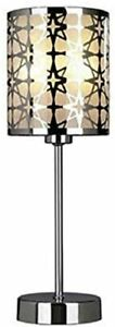 ANIKA 35cm Cosenza Table Lamp Cream Bedside