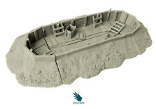 SPELLCROW WARGAME RPG MINI TRENCH TERRAIN COMPATIBLE 28 MM BITS