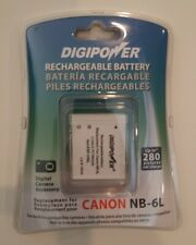 NEW Canon nb-6l battery replacement for PowerShot models