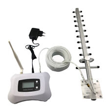 Lcd Display+Yagi and pen Antenna 3G mobile signal repeater booster 3G cellular