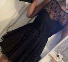 Jones + Jones Black Dress Size 8