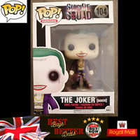 Funko Pop The Joker Boxer 104 Suicide Squad NEW Free UK Delivery