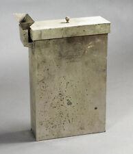 Burke & James Ingento Nickel-Brass Wet & Dry Plate Developing Tank for 4x5, 5x7