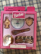 Barbie doll house Kitchen Diorama Accessories Special Collection Cookware Set lo