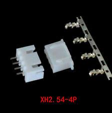 80pcs XH2.54-4P Connector Kits 2.54mm Pin Header + 20* 4P Terminal + 20* Housing
