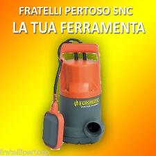 POMPA SVC900 - 900W PER IL DRENAGGIO DELLE ACQUE SPORCHE