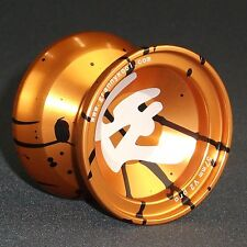 YOYO GK V2 PRO Metal 57mm Gold Splash Aluminium includes 3 strings