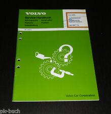 Werkstatthandbuch Volvo 740 / 760 / 780 Airbag SRS ab Baujahr 1987 Stand 12/1989