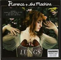 FLORENCE & THE MACHINE Lungs CD BRAND NEW Bonus Track