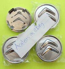 CITROEN C4 CENTRE CAPS Set di 4x Argento 60mm Cerchi in lega GRAND PICASSO CACTUS