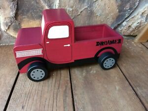 Pottery Barn Kids Wooden Truck - toy