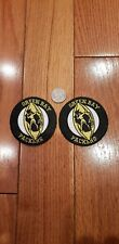 """Green bay packers vintage embroidered iron on  Patch 3 """" x 3"""" lot (2)"""