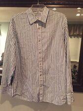 Calvin Klien Mens Button Down Dress Shirt Size medium