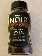 New listing Folgers Noir Golden Dusk Instant Coffee 7 oz