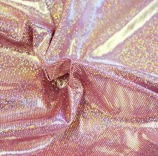 RARE SHINY metallic FOIL Panties LightWeight Lingerie Iridescent PINK fabric BTY