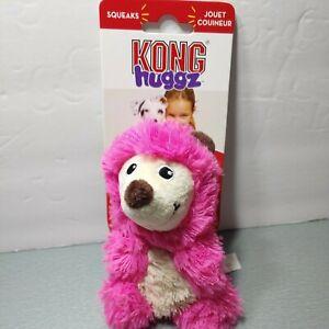 KONG Squeaks Huggs Hedgehog Small Dog Plush Toy FREE SHIP Original Kong Fun!