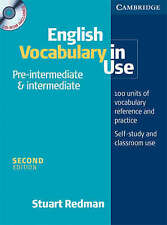 English Vocabulary in Use Pre-Intermediate and Intermediate Book and CD-ROM Pack