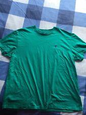Genuino Ralph Lauren Polo Verde Aqua tshirt T Shirt Top L Grande Genuino Nuevo Para Hombre
