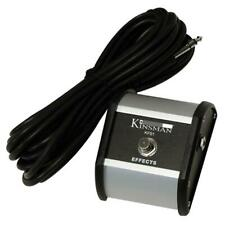 Kinsman KFS2 Footswitch Dual Available In Single And Twin Button Formats