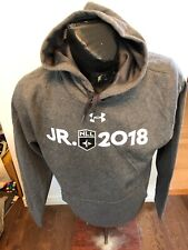 Mens Medium Under Armour Lacrosse Hooded Sweat Shirt Hoodie Jr Nll 2018