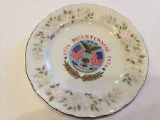 "Sheffield Fine China 6.25"" USA 1776-1976 Bicentennial Plate #501"