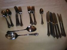 New listing Wallace Albany, 18/10 Stainless Flatware, 49 Pieces - Discontined Pattern