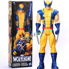 "11 ""The Avengers Marvel Titan eroe della serie Wolverine X-Men Toy Action Figure"