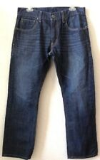 Mens Blue Pants LEVIS 514 JEANS Slim/Straight W33 x L30 100% Cotton Pre-Owned