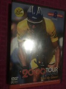 2000 Tour De France: TOUR DE LANCE! World Cycling Productions 4 DVD 8 HOURS SET