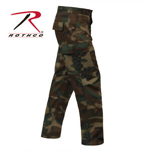 Woodland Camo BDU Pants Camo Battle Dress Uniform Rothco
