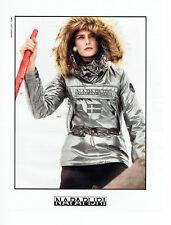 Publicité Advertising 108  2015   vetements ski anorak Napapijri