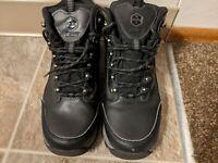 Khombu K-Guard Men's Black Lace Up Ankle Hiking Boots Size 9 M 1127721 Summit