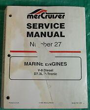 OEM Mercruiser Service Repair Manual #27 Marine Engines 7.3 V-8 Diesel 90-861784