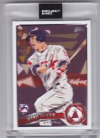 Topps Project 2020 #167 2011 Update #US175 Mike Trout Rookie RC Naturel SP