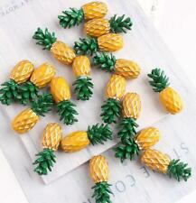 12pcs pineapple fruit 3D cute Metal Charms pendants DIY Jewellery Making crafts
