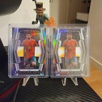 2020-21 Panini Obsidian Soccer Diego Costa CUTTING EDGE Dual Relic Lot /75 +/149
