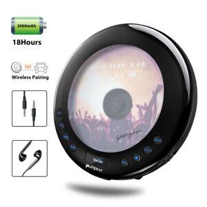 Portable CD Player Walkman LED Display Anti-skip For Car with FM Transmitter USB
