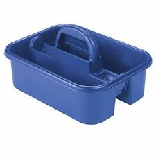 Akro-Mils 09185 Cleaning Caddy for Cleaning Supplies, First Aid Medical - Blue