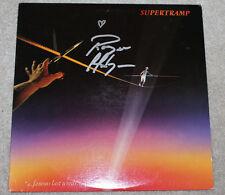 ROGER HODGSON SUPERTRAMP SINGER AUTHENTIC SIGNED VINYL RECORD ALBUM LP C w/COA
