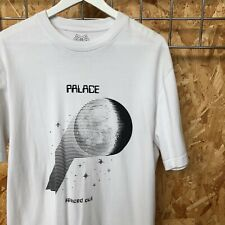Palace Skateboards P-Moon Tee T-shirt L LARGE white, tri-ferg, Supreme condition