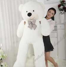"72in. ""white""Teddy Bear Giant Huge Big Stuffed Animal Plush Soft 180cm+EMS SHIP"