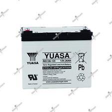 Batterie cyclique plomb étanche rechargeable YUASA REC36-12 12V 36AH 196X130X169