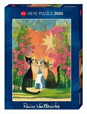 HY29721 - Heye Jigsaw Puzzle- 2000 Pieces Stamped - Roses (NEW FOR 2016)