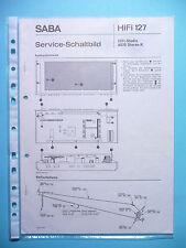 Service-Manual-Anleitung für Saba HiFi Studio 8070 ,ORIGINAL!
