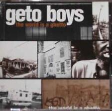 Geto Boys: The World Is A Ghetto PROMO w/ Artwork MUSIC AUDIO CD Extra Clean 3tk