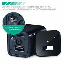 Cámara Espía Mini Cargador videocámara Full HD 1080P Oculto Dvr registro de bucle