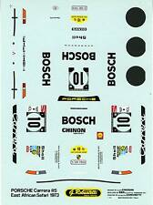PORSCHE 911RS N°10 East African Safari '73  WALDEGAARD DECALS ROBUSTELLI 1/43