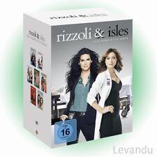 DVD-Box RIZZOLI & ISLES - DIE KOMPLETTE SERIE (Staffel 1-7) - 12 DVD's NEU+OVP